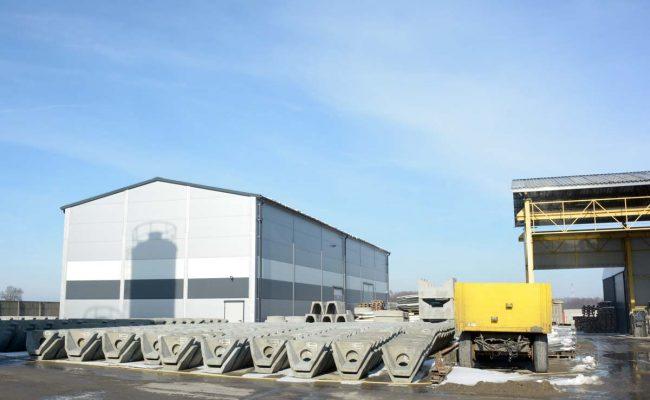 Nowa hala betoniarni Firma Reszka